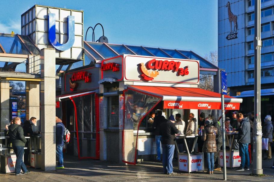 Curry 36, currywurst,  Zoologischer Garten, Hardenbergplatz, Berlin, Hauptstadt, Germany, Deutschland, fotoeins.com