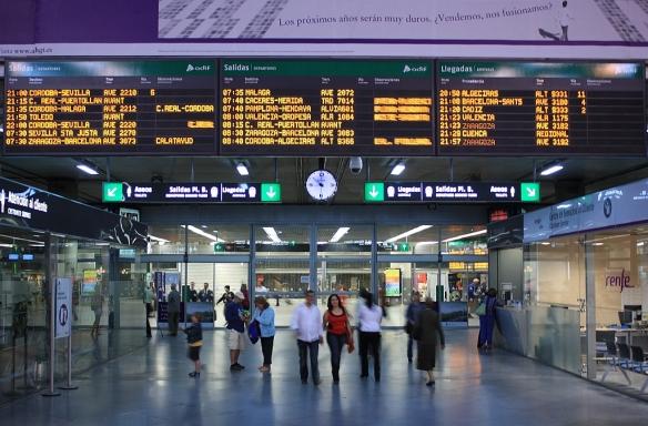 Departures area, Atocha