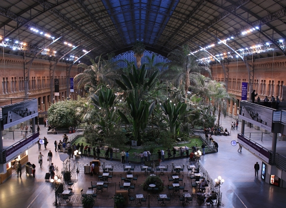 Old terminal, Madrid Atocha