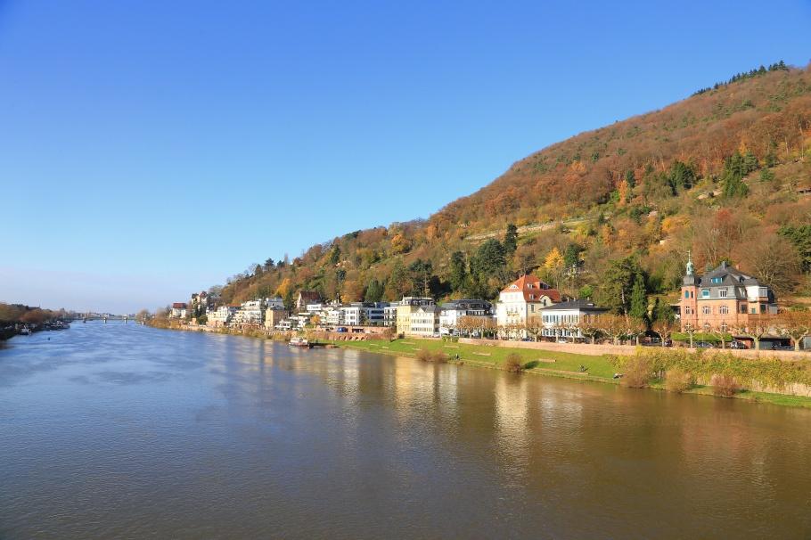 Heidelberg, Baden-Wuerteemberg, Neckar river, Germany, fotoeins.com