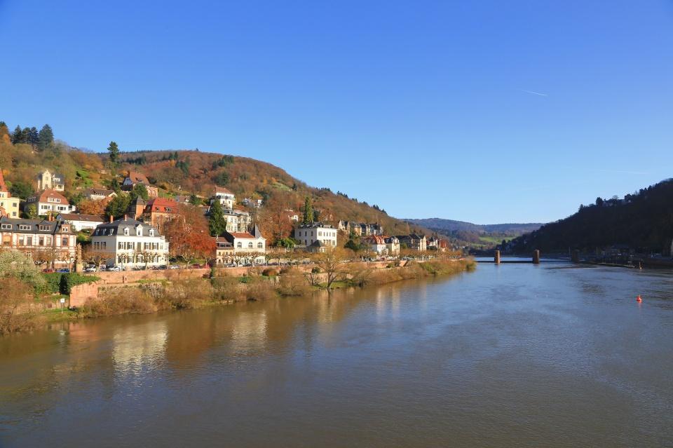 Heidelberg, Baden-Wuerttemberg, Neckar river, Germany, fotoeins.com