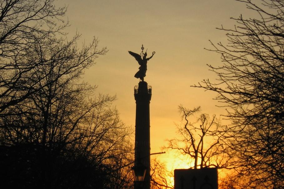 Siegessäule, Tiergarten, Spreeufer, Berlin, Germany, fotoeins.com