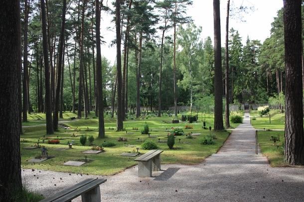 Skogskyrkogarden, Forest Cemetery, Stockholm, Sweden, fotoeins.com
