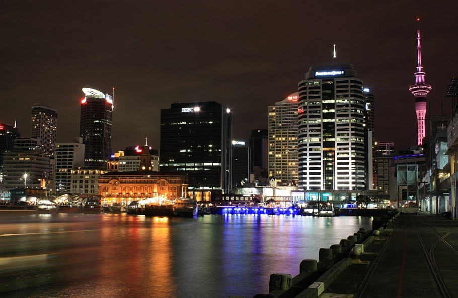Auckland CBD, waterfront, CBD, Auckland, New Zealand, Aotearoa, fotoeins.com