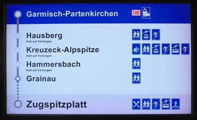 Bayerische Zugspitzbahn, Garmisch-Partenkirchen