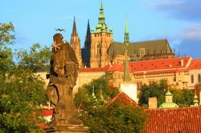 Charles Bridge, Lesser Quarter, Prague, Praha, Czech Republic, fotoeins.com