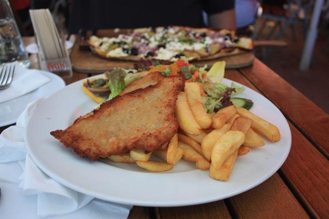 Wiener Schnitzel, RheinZeit, Köln, Koeln, Cologne, 29.09.2011