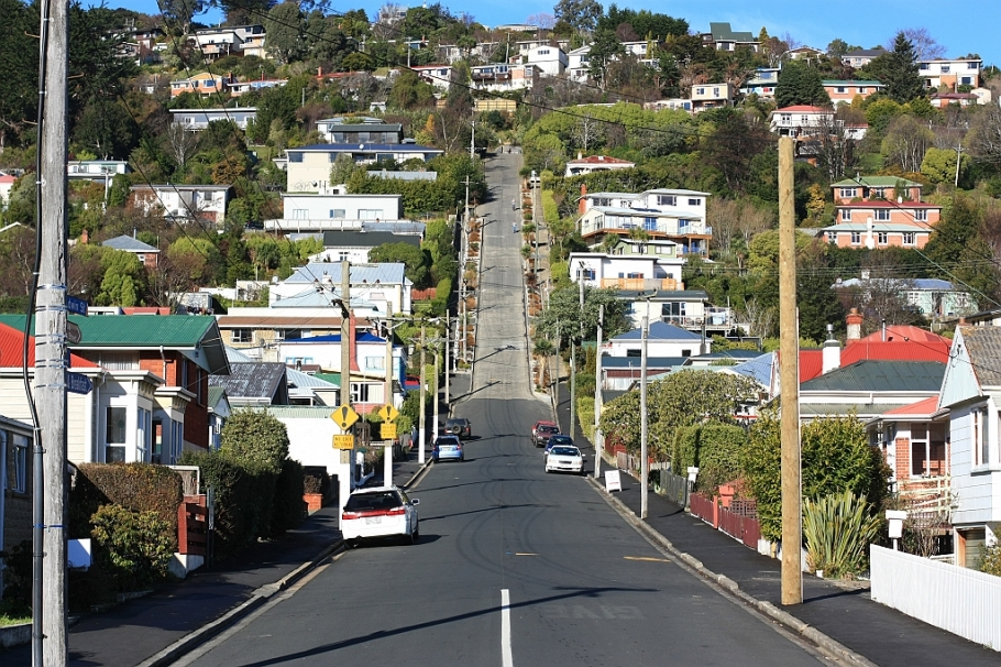 Baldwin Street, Dunedin, Otago, New Zealand