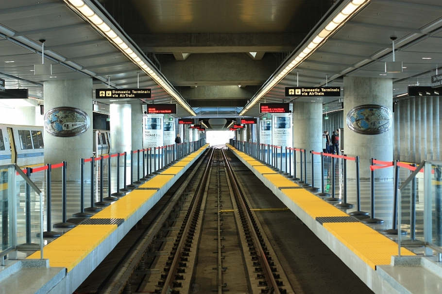 BART, San Francisco International Airport
