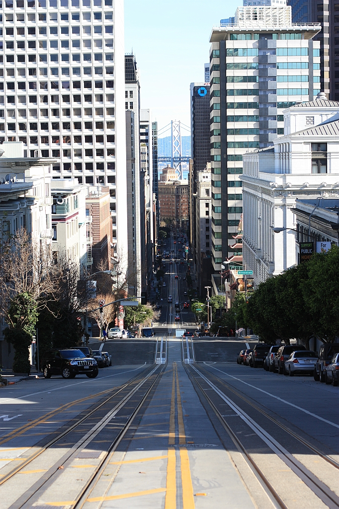 California, Powell, streetcar, San Francisco