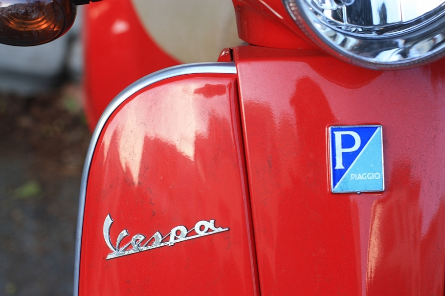 Vespa, Piaggio, scooter, Telegraph Hill, North Beach, San Francisco
