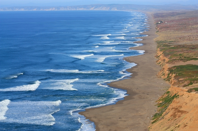 Pacific coastline, Point Reyes
