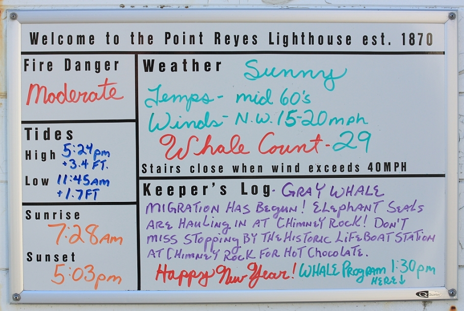 Point Reyes Lighthouse Visitor Center, Point Reyes National Seashore