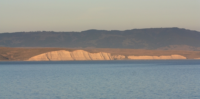 Drakes Beach at sunset, Point Reyes National Seashore