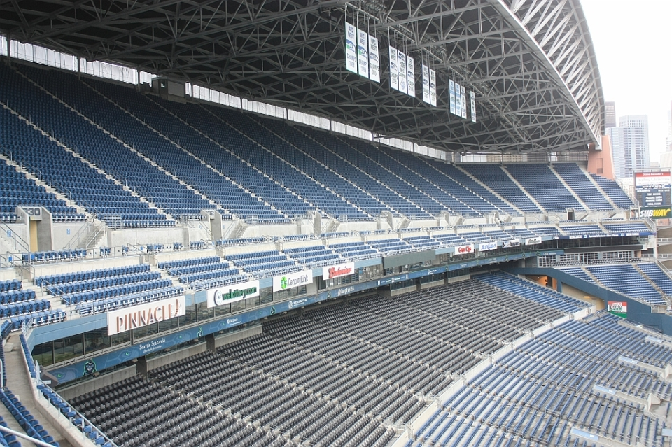 West seating, CenturyLink Field, Seahawks, Sounders, Seattle