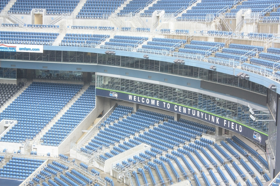 CenturyLink Field, Seattle Seahawks, Seattle Sounders, Seattle, WA, USA