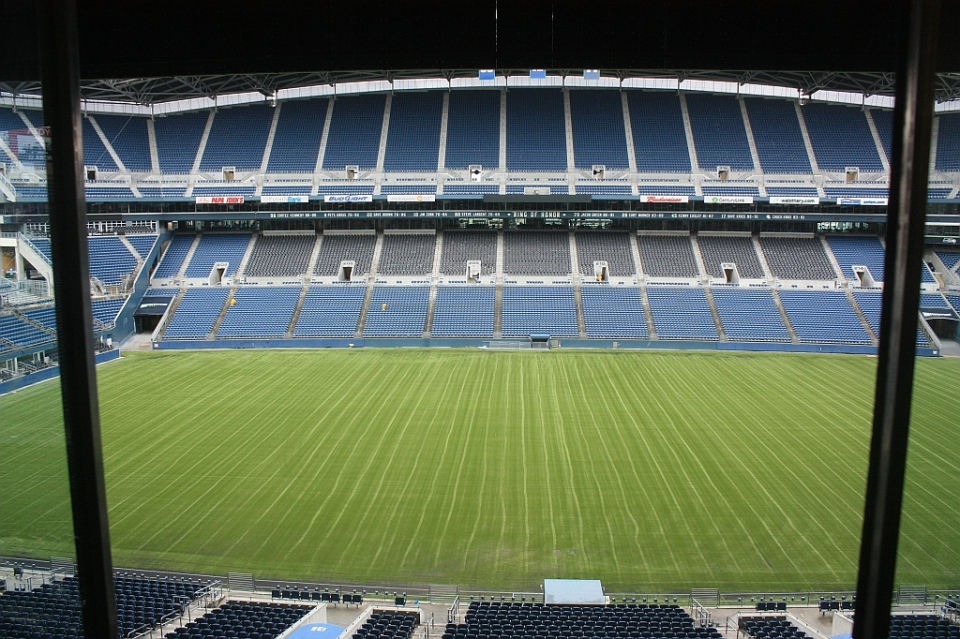 Press Box, CenturyLink Field, Seahawks, Sounders, Seattle