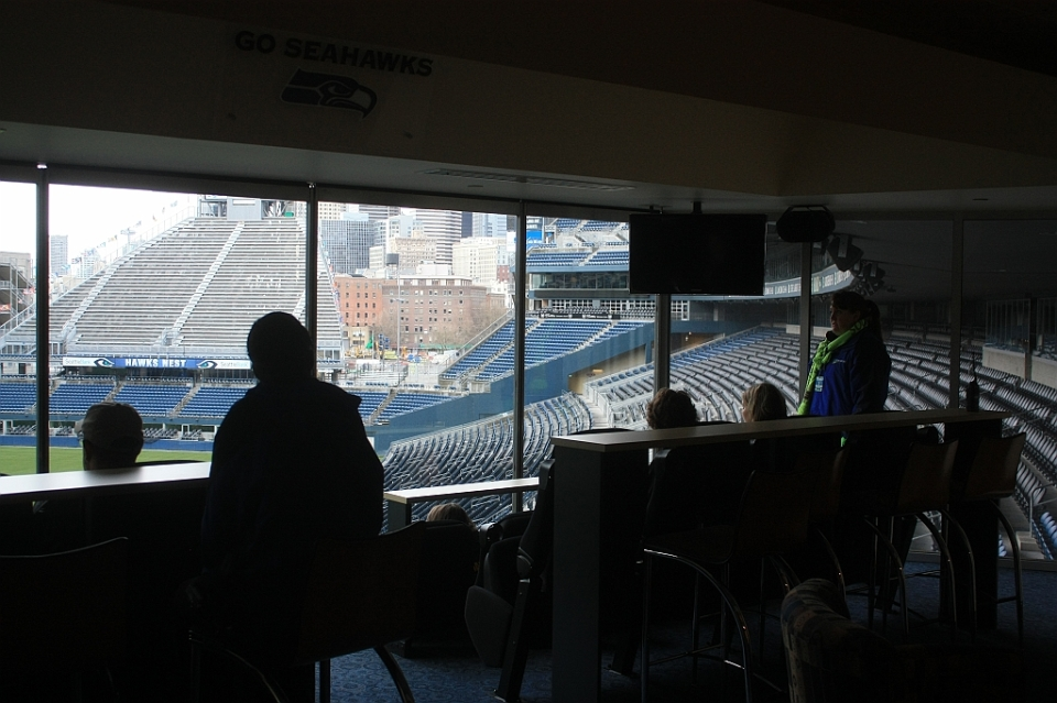 12th Man Suite, CenturyLink Field, Seahawks, Seattle