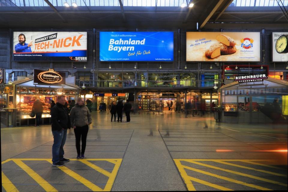 Muenchen Hauptbahnhof, Munich, Muenchen, Bayern, Bavaria, Germany, fotoeins.com