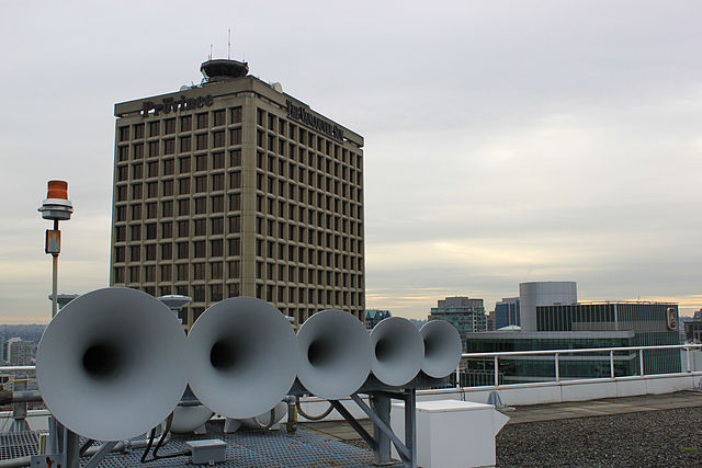 Heritage Horns, Pan Pacific, Flickr user ppacificvancouver, Wikimedia