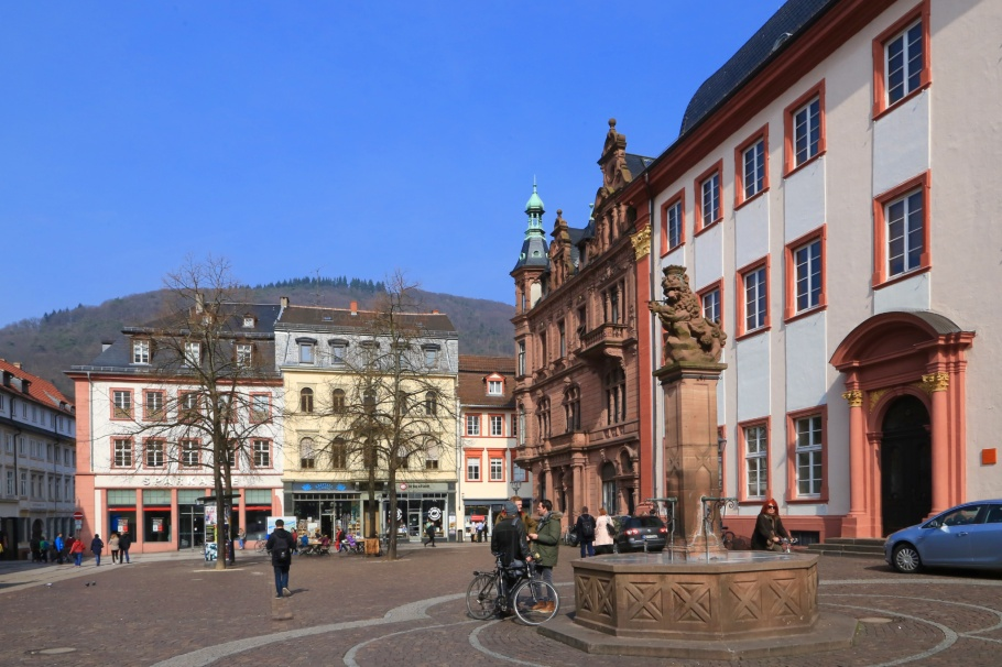 Universitätsplatz, Universität Heidelberg, Heidelberg, Baden-Württemberg, Germany, fotoeins.com