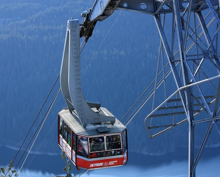 Grouse Mountain, Skyride, Vancouver, Canada