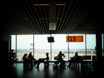Schiphol Airport, by marie-ll on Flickr