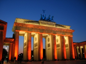 Festival of Lights, Brandenburg Gate, Pariser Platz