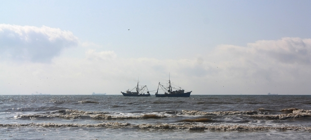 Galveston Island, Texas, Gulf of Mexico