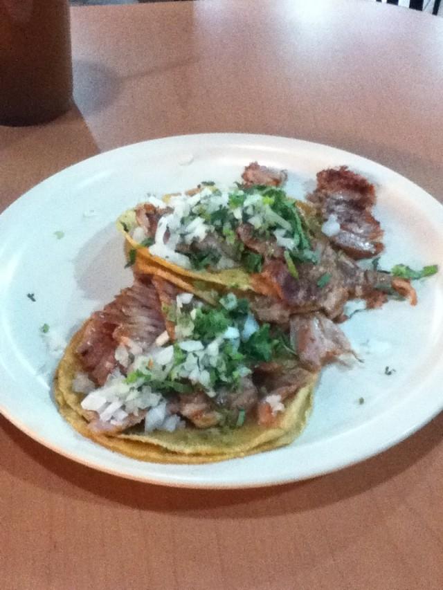 Tacos al pastor, Taquerías Copacabana, Coyoacán, México City
