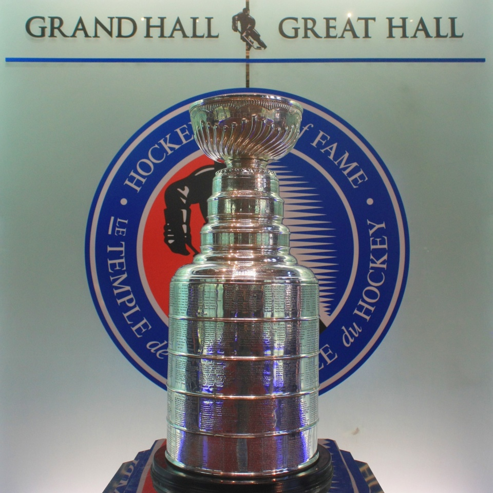 Stanley Cup, The Great Hall, Hockey Hall of Fame, Cathedral of Hockey, Toronto, Canada, fotoeins.com