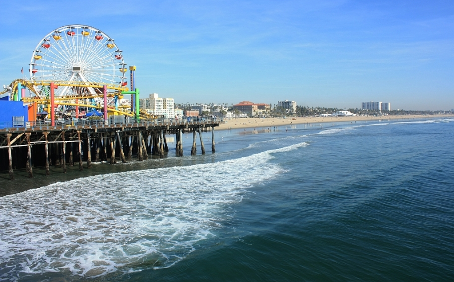 Pacific Park, Santa Monica Pier, Santa Monica, Los Angeles, California