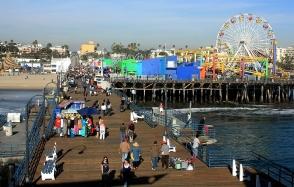 Santa Monica Pier, Santa Monica, Los Angeles, California, USA, fotoeins.com