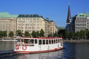Binnenalster, Hamburg, Germany, fotoeins.com