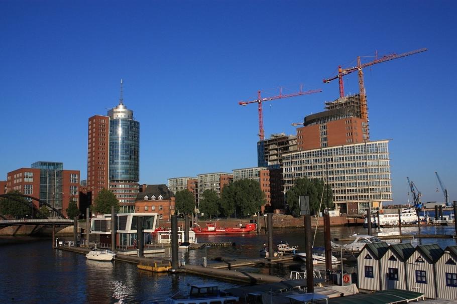 HafenCity, Baumwall, Hamburg, Germany, fotoeins.com