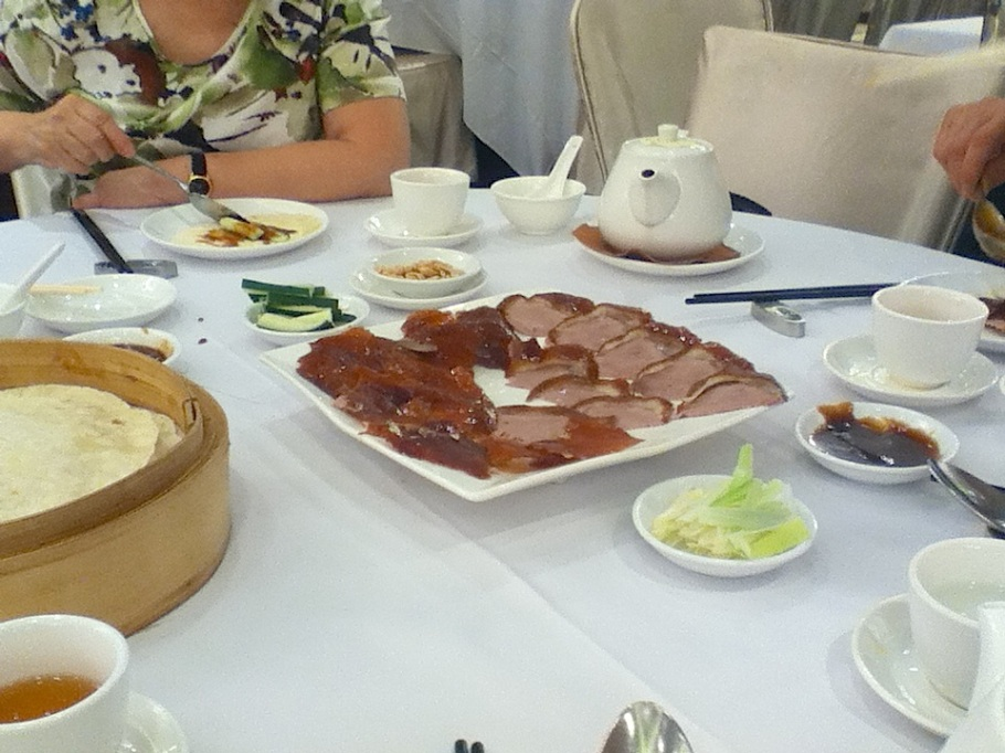 Dinner spread at The Graces, Lee Theatre Plaza, Causeway Bay, Hong Kong - 16 Jun 2012