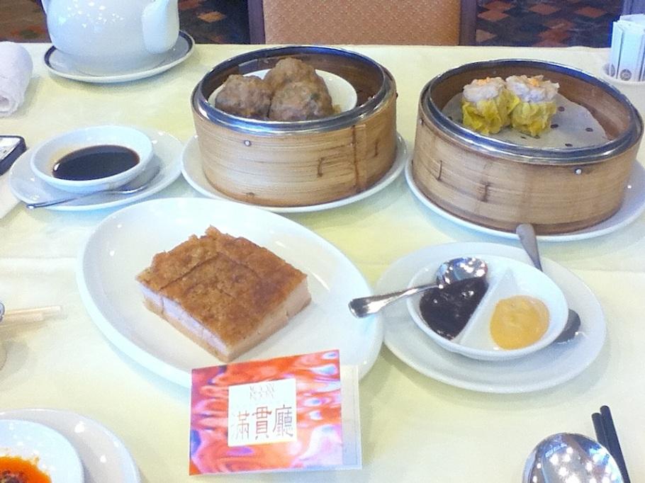 Dim sum (yum cha) at Moon Koon Restaurant, Hong Kong Jockey Club - 24 Jun 2012