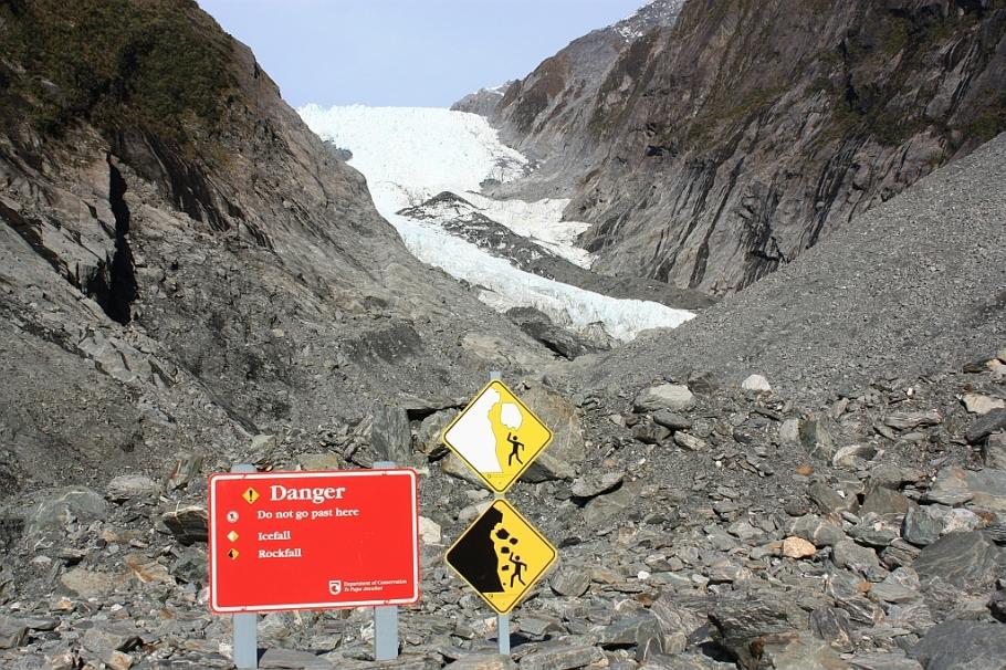 Franz Josef Glacier, Westland, South Island