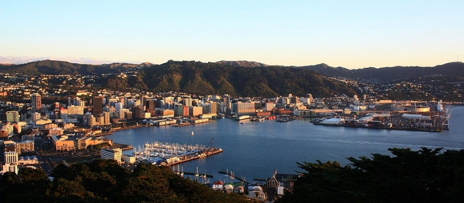 Mount Victoria, Wellington, New Zealand - 12 July 2012