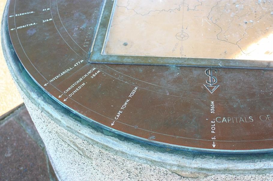 Wakefield Lookout, Centennial Memorial, Mount Victoria, Wellington, New Zealand - 12 July 2012