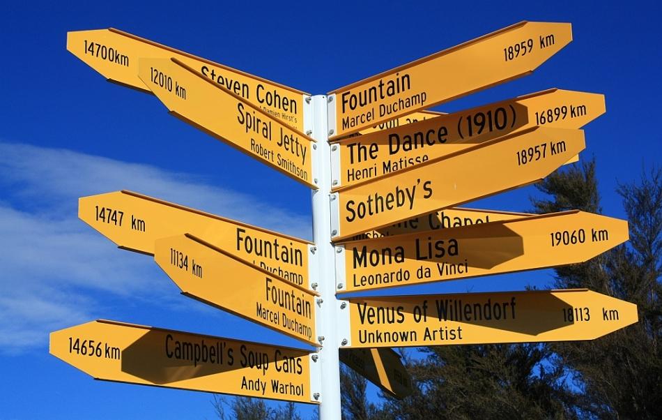 You are here', Matt Akehurst, Christchurch Art Gallery