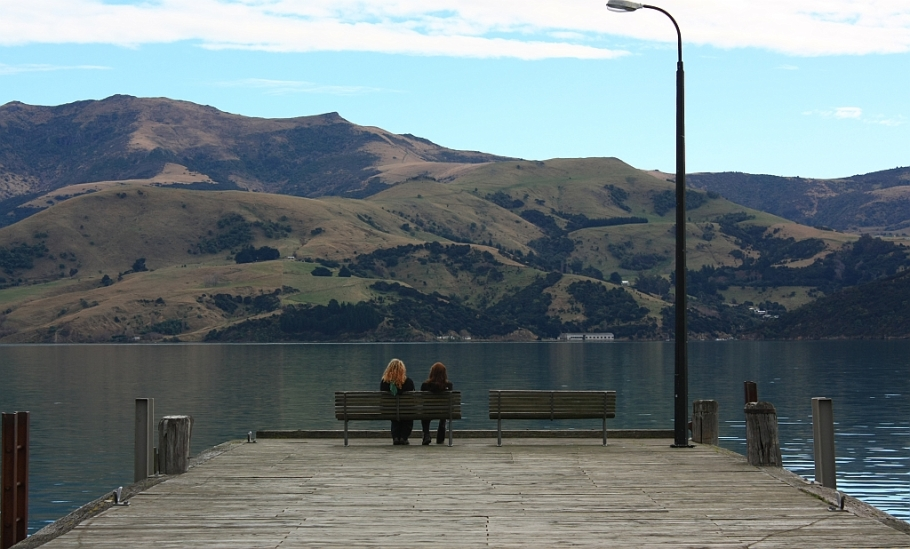 Akaroa, Canterbury, South Island, New Zealand