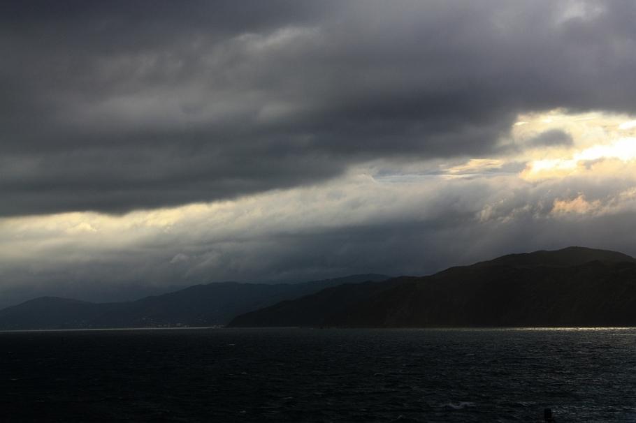 "On board ""Kaitaki"" Interislander ferry from Wellington to Picton, New Zealand"