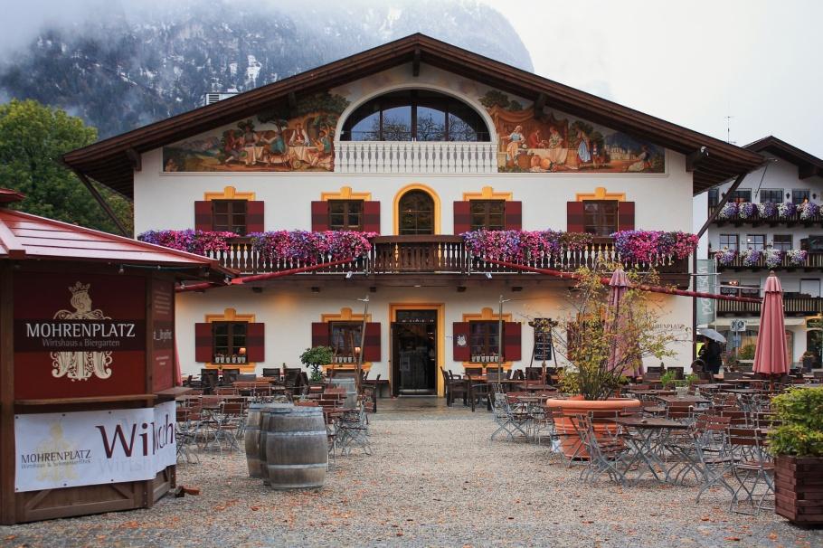 Garmisch, Mohrenplatz,  Garmisch-Partenkirchen, Oberbayern, Upper Bavaria, Bayern, Bavaria, Germany, fotoeins.com