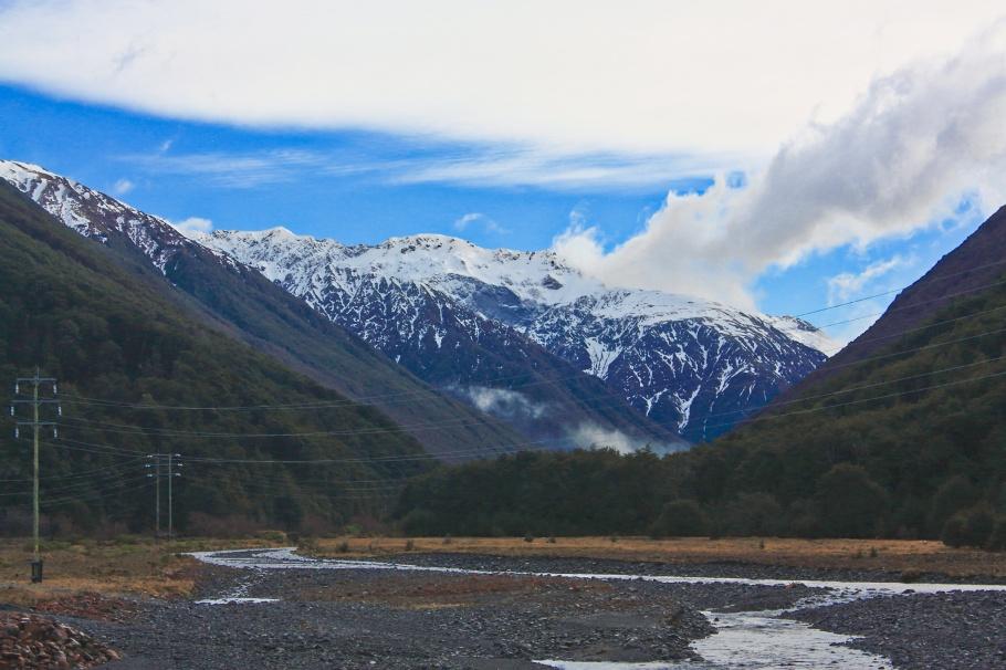 Near Arthur's Pass, TranzAlpine train from Christchurch to Greymouth, fotoeins.com