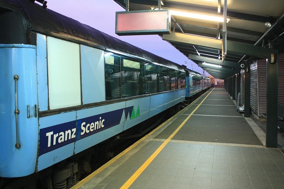 Christchurch train station, Addington, New Zealand, fotoeins.com