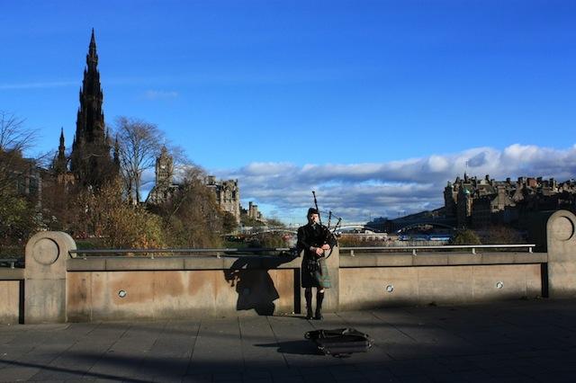 The Mound, East Princes Street Gardens, Edinburgh, Scotland