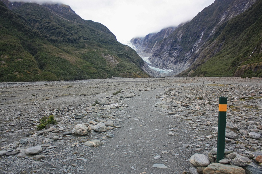 Franz Josef Glacier, Westland National Park, South Island, New Zealand - 21 Jul 2012