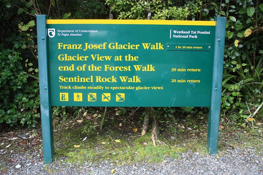Franz Josef Glacier, Westland National Park, South Island, New Zealand