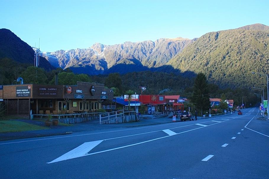 Fox Glacier, Westland National Park, West Coast, South Island, New Zealand